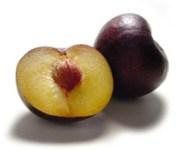 Partes del fruto - Ciruela