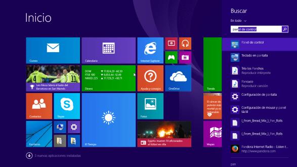 Cómo elegir la configuración de las actualizaciones de Windows - Accesando el Panel de control