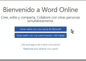 Cómo usar Microsoft Word Online