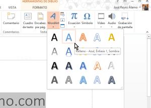 Cómo insertar WordArt en Microsoft PowerPoint