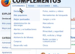 Cómo instalar extensiones para Mozilla Firefox