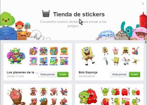 Cómo usar los stickers de Facebook