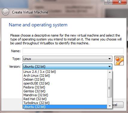 VirtualBox mostrando sólo máquinad vituales de 32-bit en cómo habilitar máquinas virtuales de 64-bit para VirtualBox en Windows 8