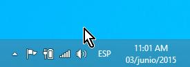 Ejemplo mostrando ícono de Obtener Windows 10 ocultado en cómo ocultar el ícono de obtener Windows 10