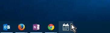 Icono anclado a la barra de tareas en cómo anclar o desanclar programas en la barra de tareas en Windows 10