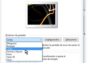 Cómo configurar el protector de pantalla en Windows 10