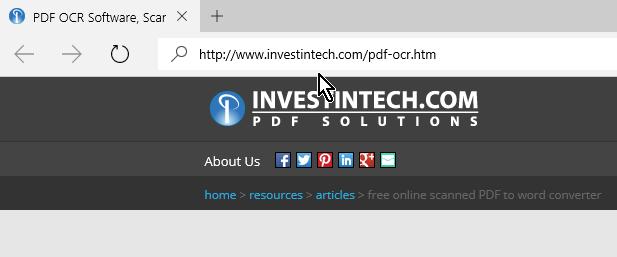 Visita la página de able2extract en cómo convertir un archivo PDF a Word gratis