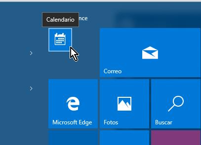 Icono de tamaño Pequeño del menú Inicio en cómo personalizar los iconos del menú de Inicio en Windows 10