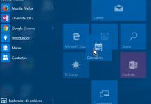 Desplazando o moviendo un icono en el menú Inicio en cómo personalizar los iconos del menú de Inicio en Windows 10