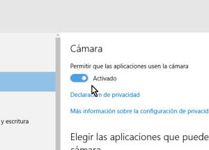 Cómo configurar la privacidad de la cámara en Windows 10