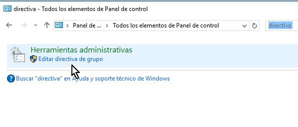 Dándole clic a Editar directiva de grupo en cómo deshabilitar el botón Eliminar el historial de Internet Explorer