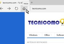 Ventana principal de Microsoft Edge mostrando el boton Inicio en cómo mostrar el botón Inicio en Microsoft Edge