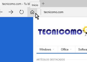 Cómo mostrar el botón Inicio en Microsoft Edge