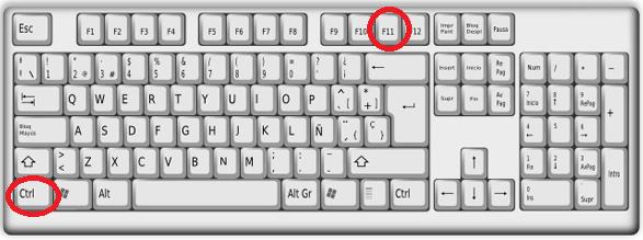 Combinación de teclas en el teclado para ejecutar una aplicación en cómo ejecutar un programa de Java en Eclipse