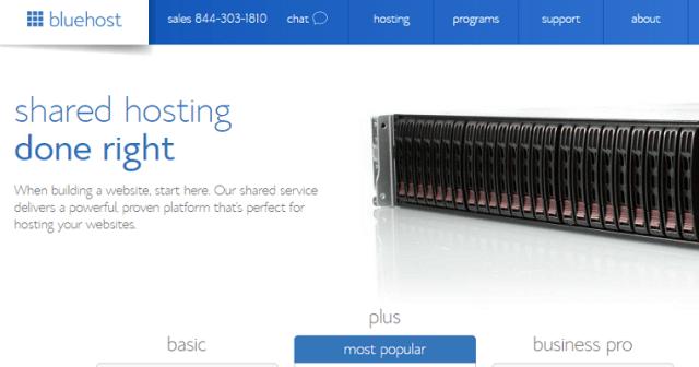 Análisis de los planes de hosting alojamiento web compartido de BlueHost