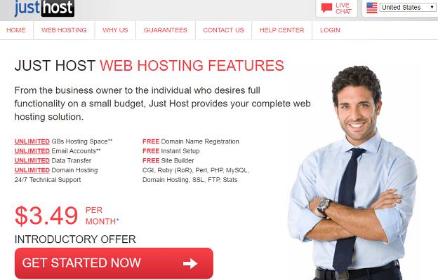 Análisis de los planes de alojamiento o hosting de JustHost