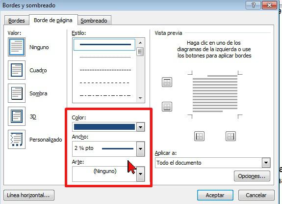 Cómo colocar un borde a página de Word 2013 - TecniComo
