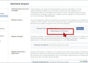 Cómo desbloquear a un amigo en Facebook