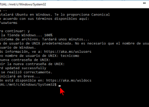 Cómo instalar el Linux Bash Shell en Windows 10