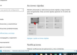 Cómo personalizar los botones del Centro de acciones en Windows 10