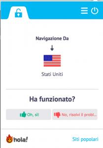 vedere canali americani da italia grazie a hola vpn