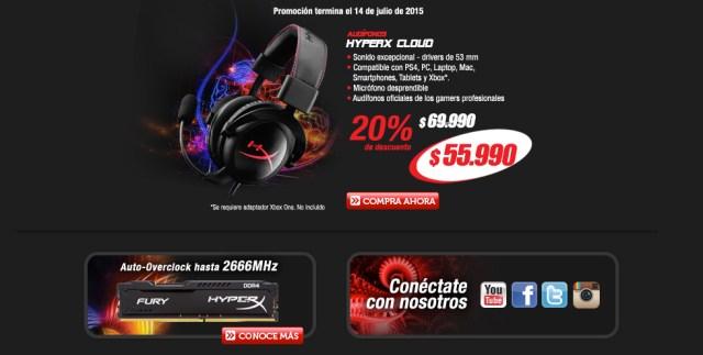Promoción HyperX