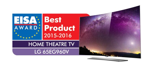 LG 4K OLED TV 65EG960V_EISA Award