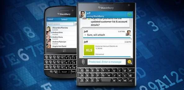 BlackBerry PGP