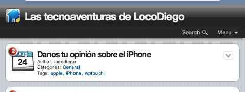 TecnoAventuras desde tu iPhone