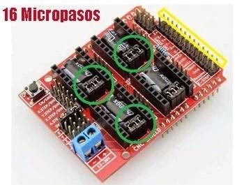Shiel para Arduino CNC con GRBL