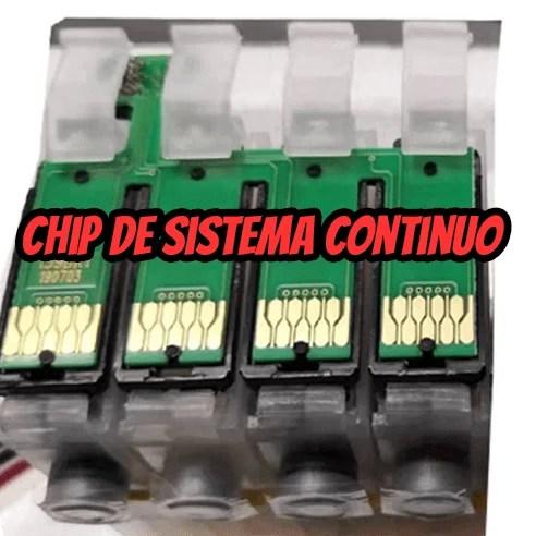 Chip de sistema continuo Fallas comunes,