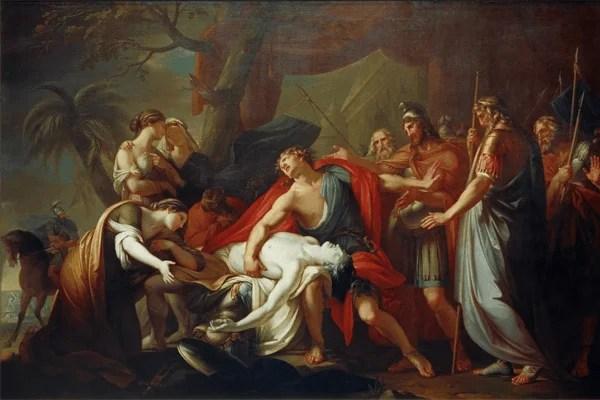 Muerte de Patroclo
