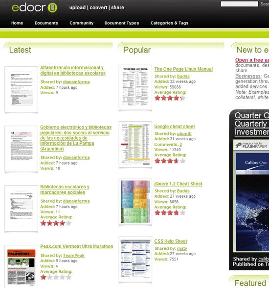 Crie arquivos em PDF e compartilhe