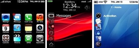 Temas grátis para BlackBerry