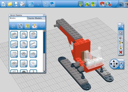 Monte Lego no seu computador