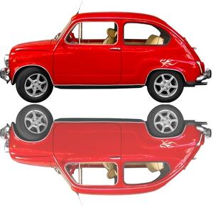 Efeito de espelho em fotos