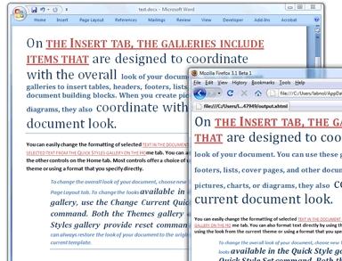 Abra arquivos .DOCX no Firefox