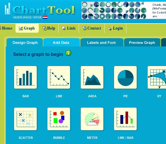 Como criar gráficos sem o Excel?
