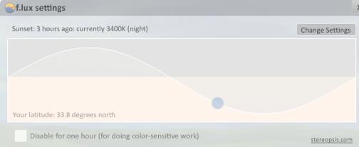 Ajuste o brilho da tela durante o dia
