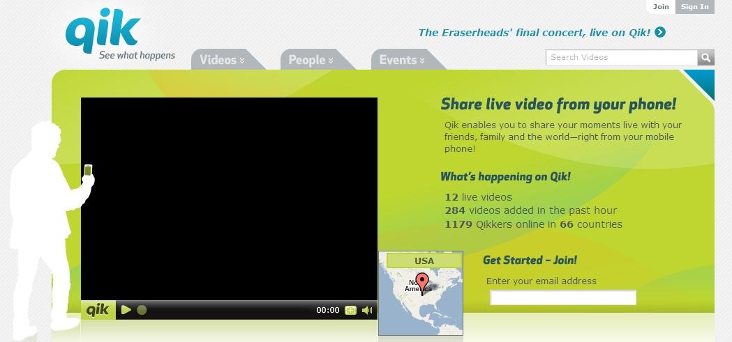 Transmita vídeo do celular para a web ao vivo