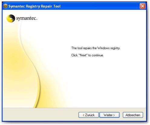 Corrija o registro do Windows