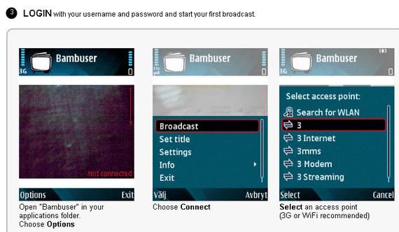 Como transmitir vídeo do celular pela web