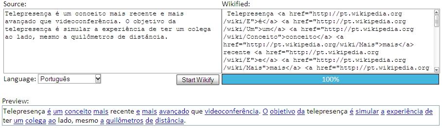 Adicione links da Wikipedia automaticamente