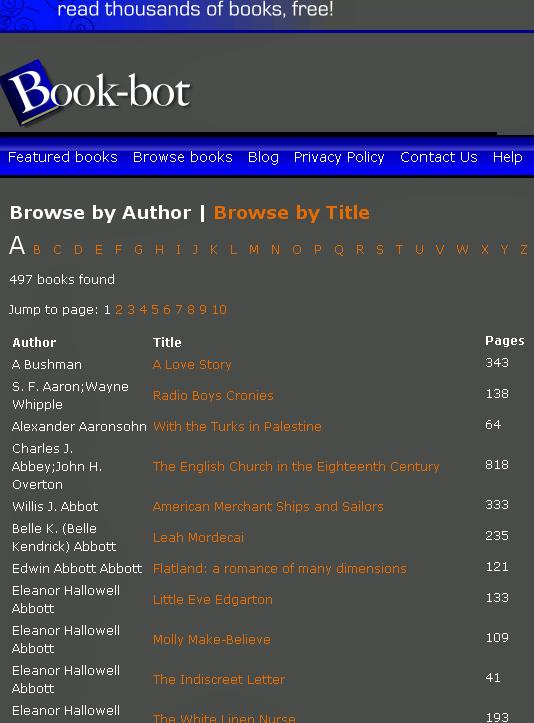 eBooks para download grátis