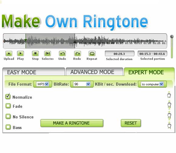 Como fazer seu ringtone