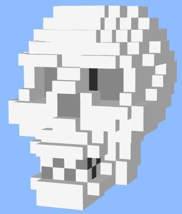Faça arte em 3D com pixels