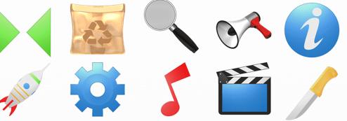 Figuras e ícones para apresentações