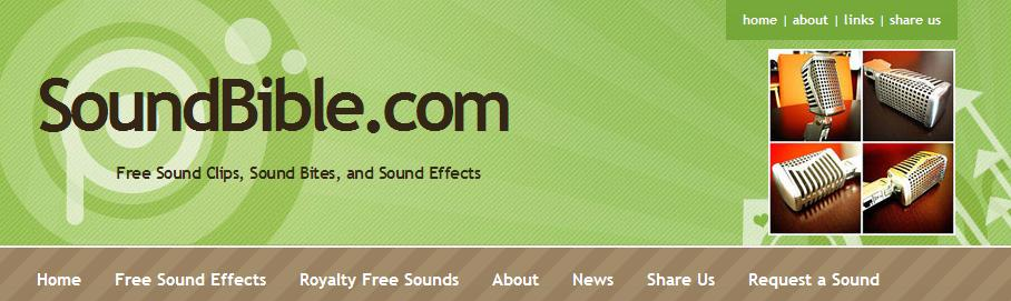 Coleções de efeitos sonoros para download