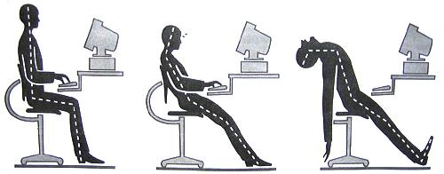 Postura no computador melhora produtividade