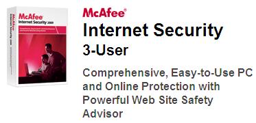 McAfee Internet Security 2010 Grátis